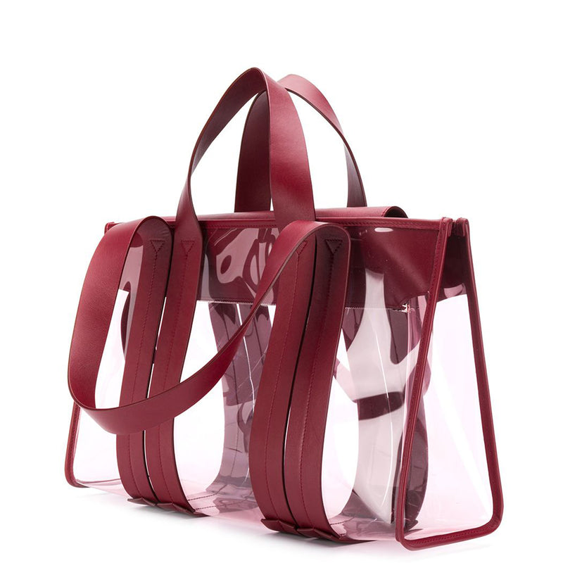 COSTANZA SAINT HONORE PVC PINK/BURGUNDY