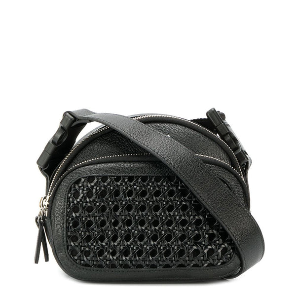 BENTOTA BLACK LEATHER BELT BAG