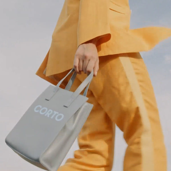SHOPPER TOTE MEDIUM CLOUD VITELLO