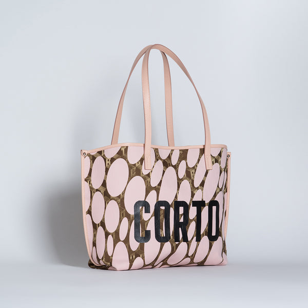 JENNY EAST WEST TOTE LUXOR GD/CORTO BLACK/VIT CARRARA ROSE