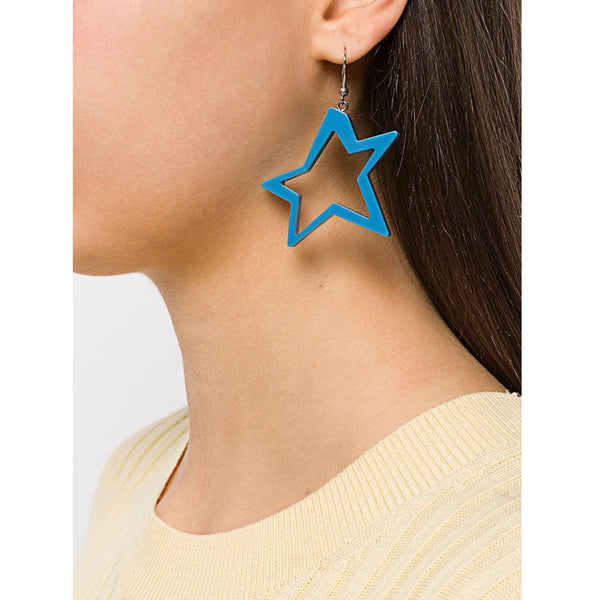 C STAR TURQUOISE EARRINGS