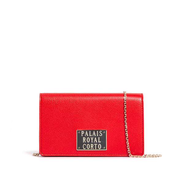 ROYAL WALLET GOAT RED BRAISE