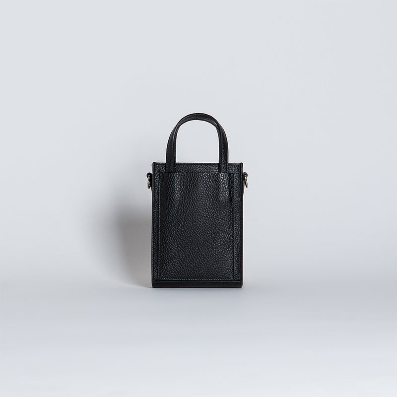SHOPPER TOTE MINI BLACK