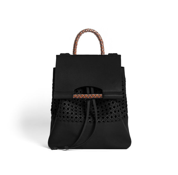 PRISCILLA BACKPACK BENTOTA BLACK/CORTO BLACK
