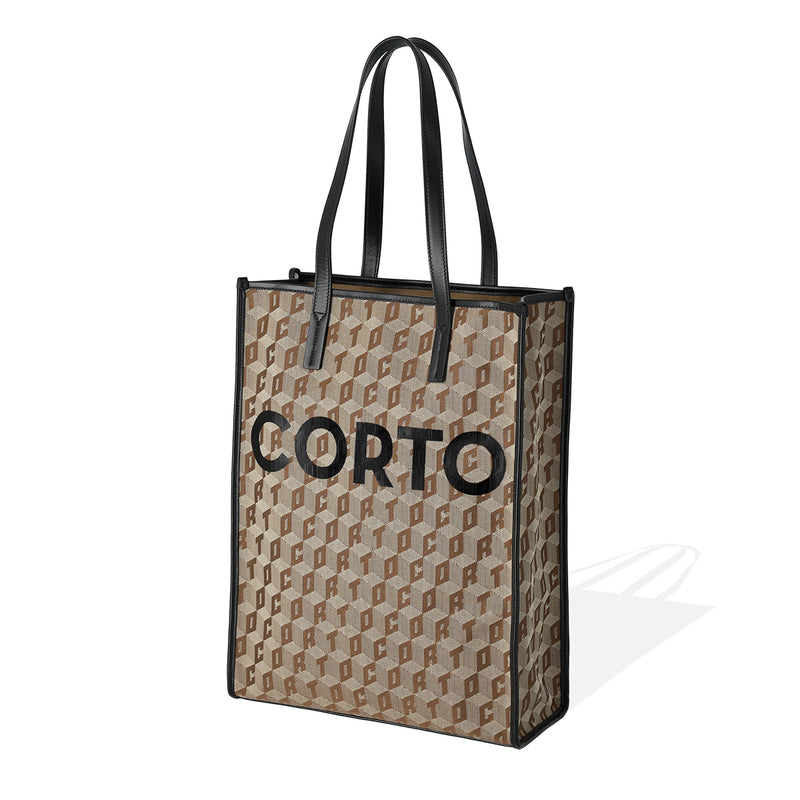SHOPPER TOTE CORTO X WINDANDSEA/BLACK
