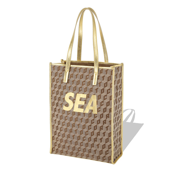 SHOPPER TOTE CORTO X WINDANDSEA/GOLD