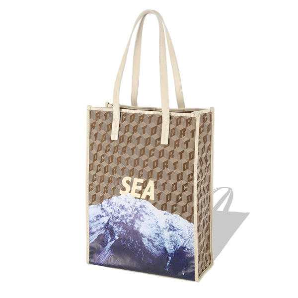 SHOPPER TOTE CORTO X WINDANDSEA/MOUNTAIN