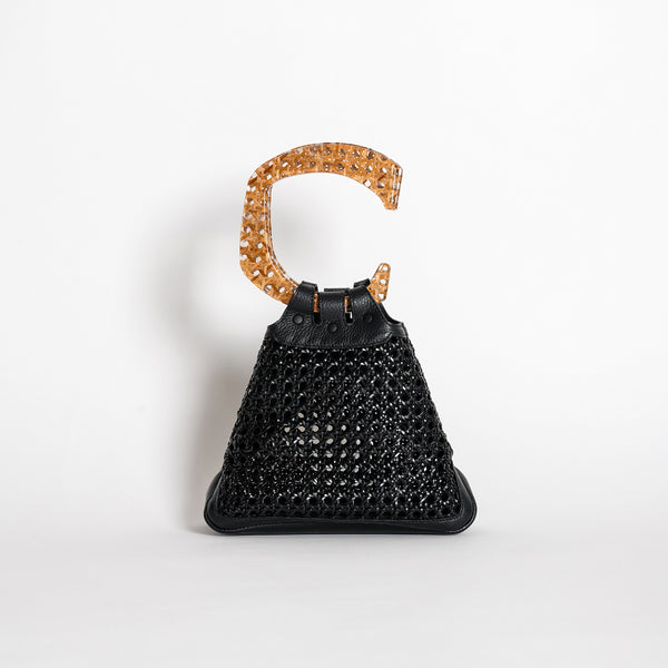 C EVENING BAG BLACK BENTOTA