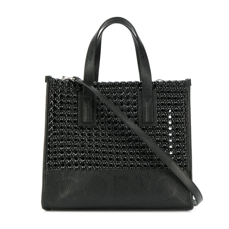 SHOPPER TOTE SMALL BENTOTA BLACK/CORTO