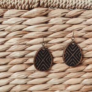 Mini Wild Earring [Black]
