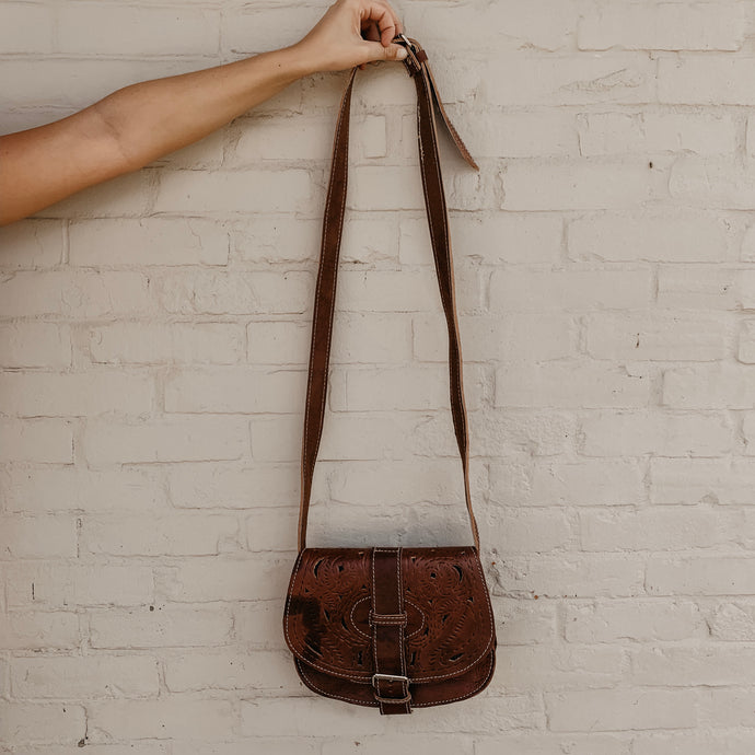 Marana [Recycled Leather Crossbody]