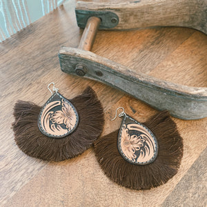 Finn Hand Tooled Earring [thirteen]