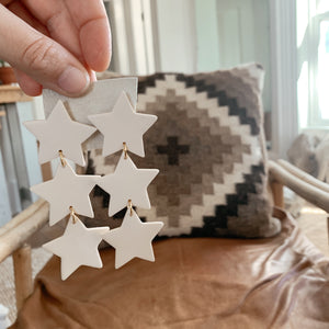 Oh My Stars Earring [Cream]