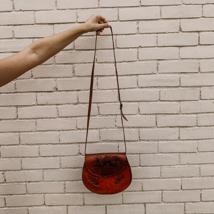 Josephine [Recycled Leather Crossbody]