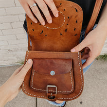 Load image into Gallery viewer, Hazel Mae [Recycled Leather Crossbody]