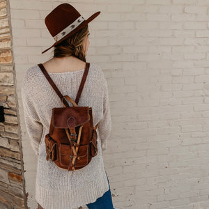 Willa [Recycled Leather Backpack]