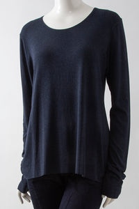 Jersey Longsleeve Crescent Tunic