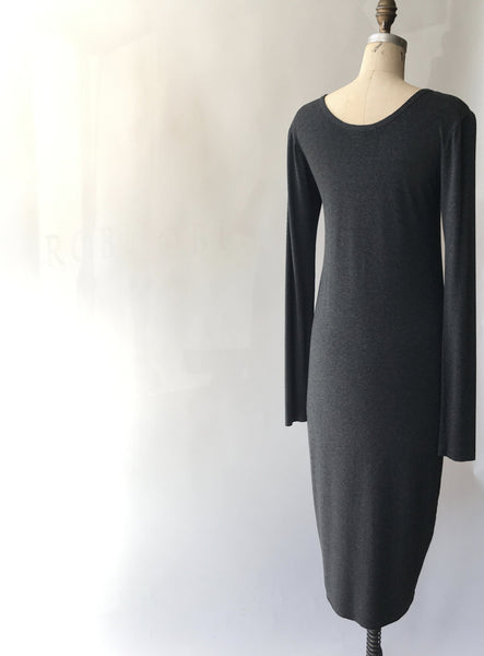 Jersey Scoopneck Double LayerDress
