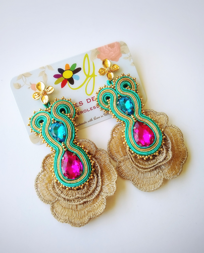 earrings, new, woma, accessories, jewelry, handmade, beautiful, unique, style, trendy, fashion, instagood, instadaily, shopdayanamendoza, dayanamendozashop, shippingwolrdwide, onlineshipping