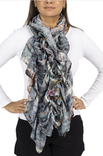 Load image into Gallery viewer, scarf, woman, unique, style, fashion, tredy, beautiful, instagood, instadaily, onlineshopping, freeshipping, shippingworldwide, shopdayanamendoza