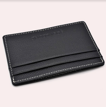 Load image into Gallery viewer, Slim Leather Card Holder