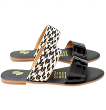 Load image into Gallery viewer, flat, sandals, comfortable, woman, colombian, handmade, fashion, beautiful, style, animal print, fun, trendy, chick, instagood, instadaily, onlineshopping, shippingworlwide, shopdayanamendoza
