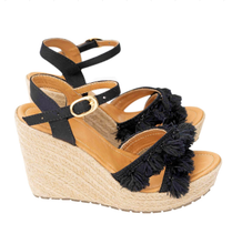 Load image into Gallery viewer, espadrilles, sandals, handmade, colombian, beautiful, fashion, unique, trendy, chick, fun, woman, instagood, instadaily, shopdayanamendoza, shippingworlwide, onlineshopping