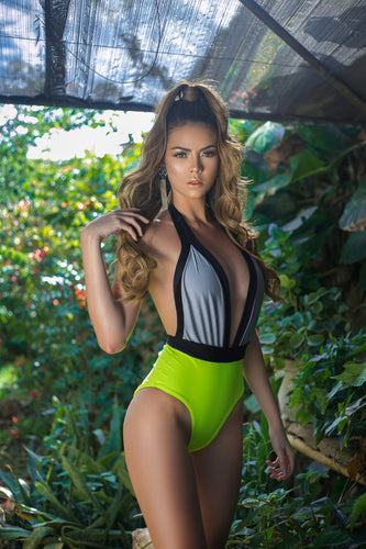 swimwear, traje de baño, woman, sun, sol, summer, verano, beach, playa, Amarillo neon, neon yellow, style, fashion, beautiful, instagood, instadaily, shippingwolrdwide, onlineshopping, dayanamendozashop, shopdayanamendoza