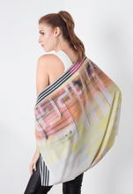 Load image into Gallery viewer, scarf, woman, beautiful, elegant, colors, style, fashion, trendy, instagood, instadaily, shippingworldwide, onlineshopping, unique, dayanamendozashop