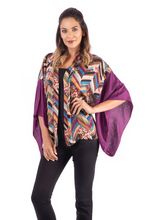 Load image into Gallery viewer, jacket, kimono, colors, style, unique, fashion, trendy, beautiful, elegant, woman, instagood, instadaily, shippinworldwide, onlineshopping, freeshipping, shopdayanamendoza