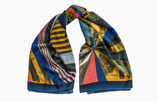 Load image into Gallery viewer, scarf, woman, beautiful, elegant, colors, style, fashion, trendy, instagood, instadaily, shippingworlwide, onlineshopping, unique, dayanamendozashop