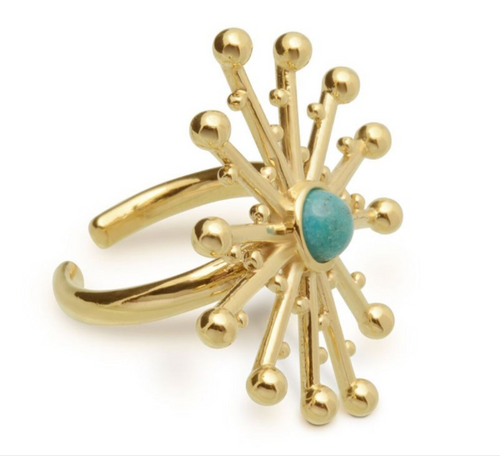 flower ring unique edgy fun style