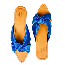 Load image into Gallery viewer, Flat Sandals Silvia Cobos Love Blue