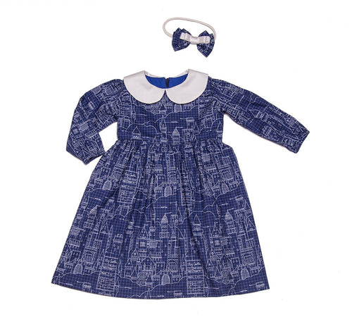 Virginia Dress Castle Plans Navy