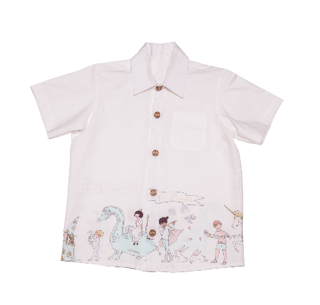Magical Parade White Shirt
