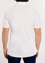 Load image into Gallery viewer, tshirt, organic, men, white, blue, style, fashion, beautiful, instagood, trendy, unique, instadaily, shippingworldwide, onlineshopping, dayanamendozashop, shopdayanamendoza