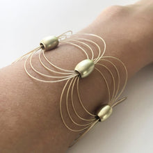 Load image into Gallery viewer, bracelet, gold, unique, elegant, fashion, style, accessories, collar, accesorios, woman, trendy, beautiful, instagood, instadaily, freeshipping, onlineshipping, shippingworldwide, shopdayanamendoza