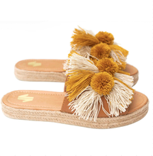 Load image into Gallery viewer, espadrille, sandals, beautiful, unique, style, trendy, comfort, colombian, handmade, chick, woman, fun, fashion, instagood, instadaily, shopdayanamendoza, shippingworldwide, onlineshopping