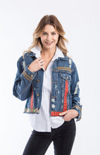 Load image into Gallery viewer, jacket, woman, style, fashion, fun, chick, unique, handmade, instagood, instadaily, shopdayanamendoza, shippingworldwide, onlineshopping