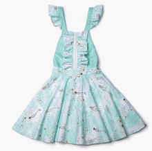 Load image into Gallery viewer, dress, girl, toddler, blue, cute, kids, style, fashion, beautiful, instagood, trendy, unique, instadaily, shippingworldwide, onlineshopping, dayanamendozashop, shopdayanamendoza