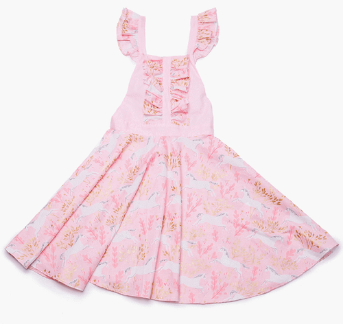 dress, girl, toddler, pink, unicorn, cute, kids, style, fashion, beautiful, instagood, trendy, unique, instadaily, shippingworldwide, onlineshopping, dayanamendozashop, shopdayanamendoza