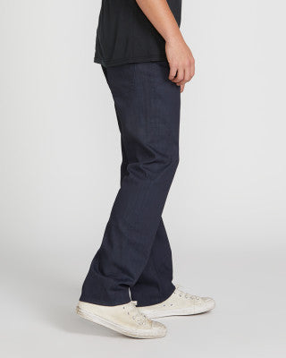 Solver Modern Straight Jean - Coated Indigo - Chicago Joes