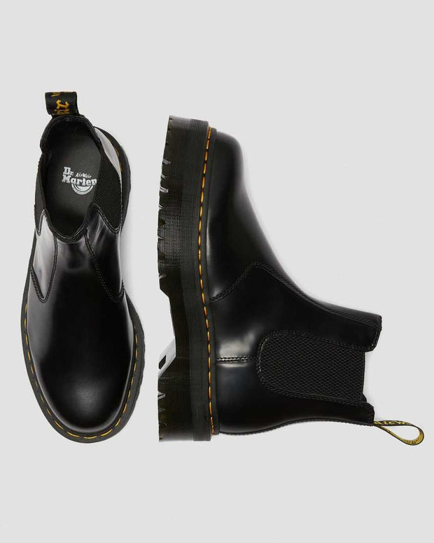 2976 Black Chelsea Boot - Quad