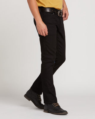 Vorta Slim Straight Jeans - Black - Chicago Joes