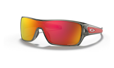 Oakley Sunglass - TURBINE ROTOR Grey Ink/Prizm Ruby