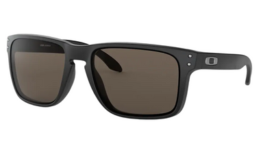 Oakley Sunglass - HOLBROOK XL Matte Black/Warm Grey