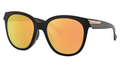 Oakley Sunglass - LOW KEY Matte Black/Prizm Rose Gold Polarized