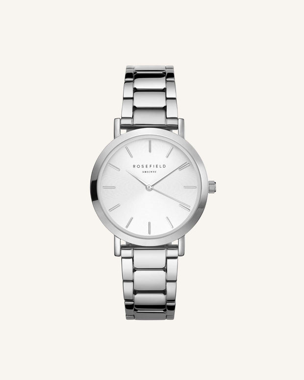 Tribeca Watch - Silver
