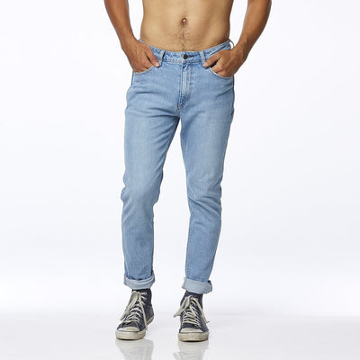 Wrangler Sid Jean - Mercury Blue - Buy online, Chicago Joes