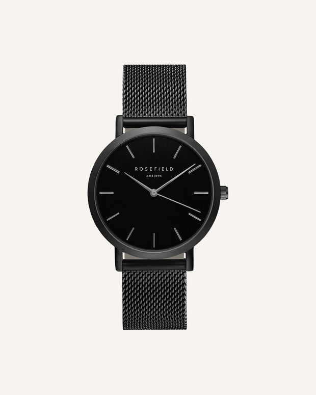 Mercer Watch - Black - Chicago Joes